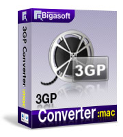Bigasoft 3GP Converter for Mac Coupon – 30%