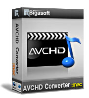Bigasoft AVCHD Converter for Mac Coupon – 5% Off