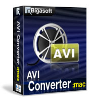 Bigasoft AVI Converter for Mac Coupon Code – 20%