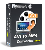 Bigasoft AVI to MP4 Converter for Mac Coupon – 15%