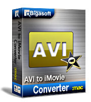 Bigasoft AVI to iMovie Converter for Mac Coupon – 15%