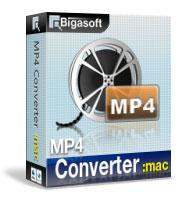 20% OFF Bigasoft MP4 Converter for Mac Coupon Code