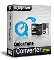 15% Bigasoft QuickTime Converter for Mac Coupon Code