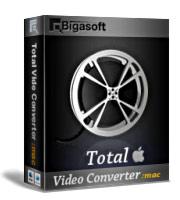 Bigasoft Total Video Converter for Mac Coupon Code – 15%