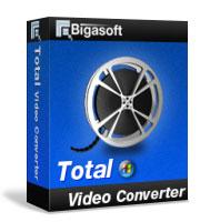 Bigasoft Total Video Converter Coupon Code – 30%