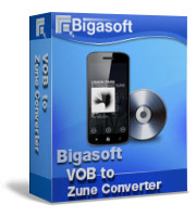 Bigasoft VOB to Zune Converter Coupon – 30%