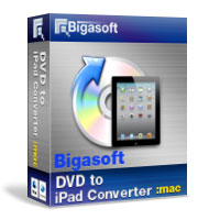 30% OFF Bigasoft VOB to iPad Converter for Mac OS Coupon Code