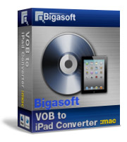 Bigasoft VOB to iPad Converter for Mac Coupon – 20% Off