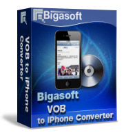 Bigasoft VOB to iPhone Converter Coupon – 5%