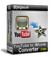 Bigasoft YouTube to iMovie Converter Coupon Code – 20%