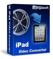 Bigasoft iPad Video Converter Coupon – 15%