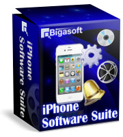 Bigasoft iPhone Software Suite Coupon Code – 15% Off