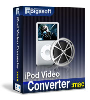 Bigasoft iPod Video Converter for Mac Coupon Code – 15%