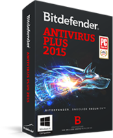 Bitdefender Antivirus Plus 2015 – 15% Sale