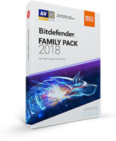 Exclusive Bitdefender Family Pack 2018 Coupon