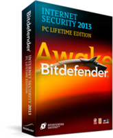 Bitdefender Internet Security 2013 [PC Lifetime Edition (Up to  Maximum of 5 Years) 1 PC] FREE IObit Advanced SystemCare PRO [1 Year 1 PC] – 15% Off
