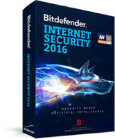 Bitdefender Internet Security 2016 (1 Year 3 Users) – 15% Sale