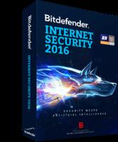 Bitdefender Internet Security 2016 (1 Year 3 Users) – 15% Sale
