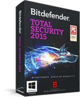 Instant 15% Bitdefender Total Security 2015 Coupon