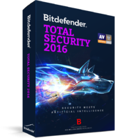 15% Bitdefender Total Security 2016 (1 Year 3 Users) Coupon