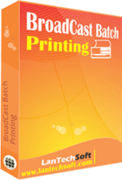 Amazing BroadCast Batch Printing Discount