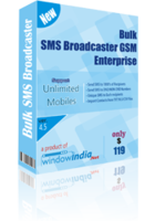 Bulk SMS Broadcaster GSM Enterprise Coupon