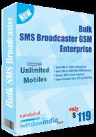 Bulk SMS Broadcaster GSM Enterprise Coupon