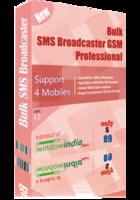 Bulk SMS Broadcaster GSM Professional – 15% Sale