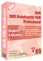 Unique Bulk SMS Broadcaster GSM Professional Coupons