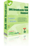 Bulk SMS Broadcaster GSM Standard Coupon Code 15% OFF