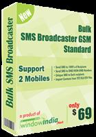 Window India Bulk SMS Broadcaster GSM Standard Coupon Sale