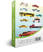 VectorVice.com – Cars Vector Pack – VectorVice Sale