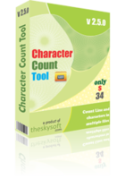 TheSkySoft Character Count Tool Coupon Code