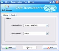 dycsoftware Chat Translator for Skype Coupon Code