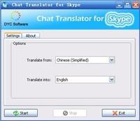 dycsoftware Chat Translator for Skype Coupon Code