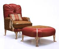 Classic Armchair with Ottoman Coupon