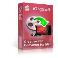 Creative Zen Video Converter for Mac Coupon Code – 40%