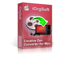 Creative Zen Video Converter for Mac Coupon Code – 40%