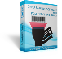 DRPU Post Office and Bank Barcode Label Maker Software Coupon