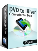 DVD to iRiver Converter for Mac Coupon – 50%