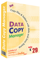 Window India Data Copy Manager Coupon
