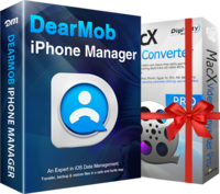 DearMob iPhone Manager (Family License) Coupon 15% Off