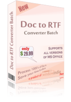 Exclusive Doc to RTF Converter Batch Coupon Code