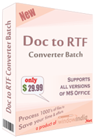 Amazing Doc to RTF Converter Batch Coupon Code