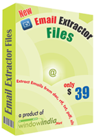 Window India – Email Extractor Files Coupons