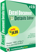 Excel Document Details Editor Coupon 15% OFF