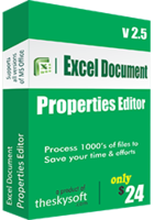 Exclusive Excel Document Properties Editor Coupon Sale