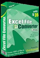 TheSkySoft – Excel File Converter Batch Coupon Discount