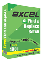 LantechSoft Excel Find and Replace Batch Coupon