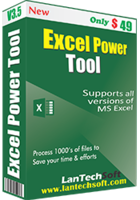 LantechSoft Excel Power Tool Coupon Sale